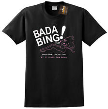Bada Bing Sopranos Inspired T-shirt - Gangster Mafia Retro Classic TV Show NEW