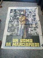 A Uomo For Sidewalk Manifesto 2F Original 1969 Dustin Hoffman