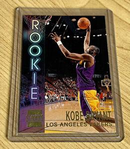 Kobe Bryant 1996-97 Topps Stadium Club Los Angeles Lakers Rookie Card Insert