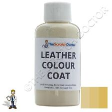 CREAM Leather Colour Coat Dye for BMW. Repair & Restore Colourant Kit