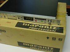 VERY CLEAN LOW USAGE MARANTZ PMD560 CF RECORDER/PLAYER W/CURRENT FIRMWARE UPDATE