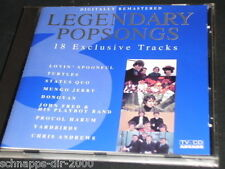 LEGENDARY POPSONGS VOL 3 ARCADE CD TURTLES STATUS QUO DONOVAN YARDBIRDS LACE
