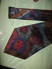 Mens Red Blue Brown Tie Necktie Van Heusen  (4286) FREE US SHIP