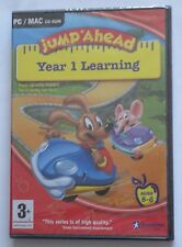 JUMP AHEAD YEAR 1 LEARNING PC/MAC CD-ROM AGES 5-6 50 SKILLS brand new & sealed !