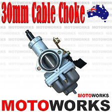 PZ 30mm Cable Choke Carburetor Carby 150cc 200cc 250CC ATV QUAD Bike dirt Buggy