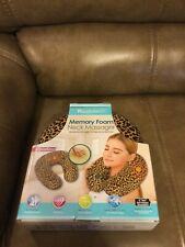 HEALTH TOUCH MEMORY FOAM NECK MASSAGER (NEW)
