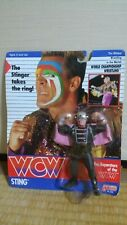 WCW Galoob UK Exclusive Sting with costume Unopend