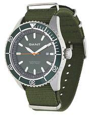 Gant Herren Armbanduhr Seabrook Military Grün W70634