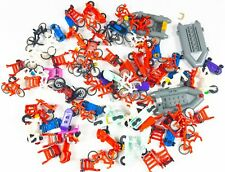 Assorted Lot of LEGO Minifigure Bikes / Scooters / Boats (10.5oz)
