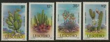 Lesotho 516-9 MNH Flowers, Cactus