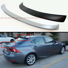 VIP STYLE REAR ROOF SPOILER+ TRUNK LID WING FOR 2014-17 LEXUS IS250 IS350 IS200T
