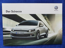 VW Scirocco R-Line Exclusive 2.0 TSI 210 PS - Prospekt Brochure 05.2013