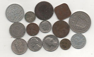 14 misc coins