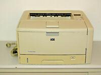 HP LaserJet 5200n Laserdrucker, Schwarz/Weiß, 2 Jahre Garantie