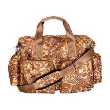 Trend Lab 100487 Paisley Brown Deluxe Duffle Diaper Bag NEW