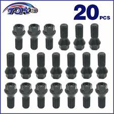 New 20Pcs Wheel Lugs Bolts Fits 07-15 BMW F25 X3 E70 X5 320i 328i 36136781151