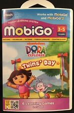VTech Mobigo Dora The Explorer Twins' Day Touch Learning System 2012 New