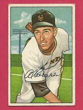 1952 Bowman  121  Al Corwin  New York Giants