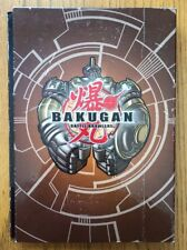 Bakugan Battle Brawlers Card Lot 124 used + Card Holder Book Folder Tin + paper