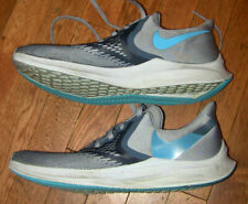 MENS NIKE AIR 11.5 ZOOM WINFLO RUNNING GRAY SHOES SNEAKERS PERFECT RUN FAST
