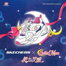 Sailor Moon X Skechers Color Pink Size 8 Us