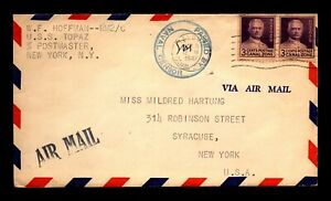 Canal Zone 1942 Navy Censor Cover w/ 2 Page Letter - L32913