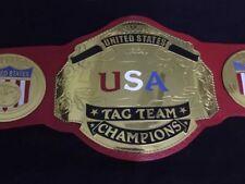 NWA US TAG TEAM HEAVYWEIGHT CHAMPIONSHIP REPLICA BELT