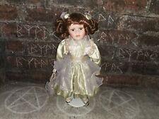 More details for haunted porcelain doll vessel samantha positive energy