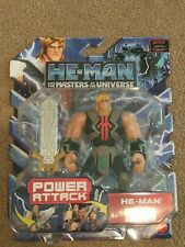 Masters of the universe Power Attack He-man figure ?Netflix Sealed complete.NEW