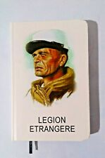 CALEPIN Bloc-Notes Carnet de Poche LÉGION ÉTRANGÈRE crée et imprimé en France