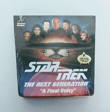 NEW Star Trek The Next Generation A Final Unity PC Game 1995 TNG Factory Sealed
