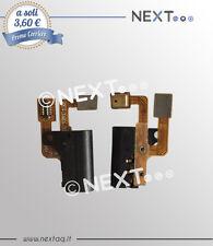 Flat flex power per HUAWEI ASCEND P6 flat Jack Cuffia Audio MICROFONO