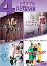 Four Film Favorites Marilyn Monroe Collection DVD Brand New