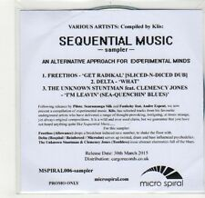 (GF672) Sequential Music sampler, Compiled by Klis - 2015 DJ CD