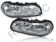97-03 Chevy Malibu 04-05 Classic 97-99 Cutlass Euro Headlights Lamps RH + LH