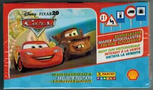 Cars Securite Routiere Disney Box 100 Packs Stickers Panini Shell