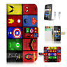 ( For HTC Desire 310 ) Case Cover! Superhero Collection P0139