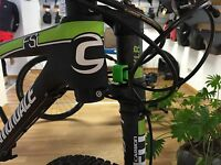 CableGuy for Cannondale Lefty - discreet and lightweight protector cable guide