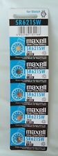 5x 364/SR621SW 1.55V Alkaline Battery for Watch etc **POST FROM MELBOURNE **