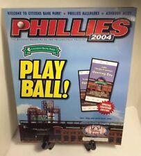 2004 Philadelphia Phillies Opening Day Program Citizens Bank Park Inaugural