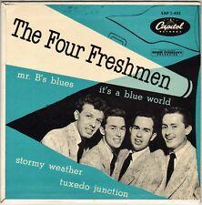 "THE FOUR FRESHMEN ""Mr. B's BLUES"" POP ROCK JAZZ VOCAL 50'S EP CAPITOL 1-433"