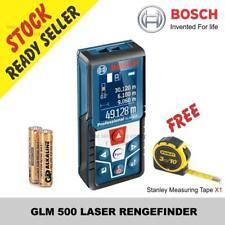 BOSCH GLM 500 LASER RENGEFINDER Free Stanley Measuring Tape X1