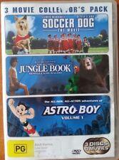 Soccer Dog The Movie + Jungle Book 2 + Astro Boy Volume 1
