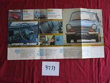 N°9229 / catalogue nouvelle Mini Cabrio sidewalk by BMW texte français 2007