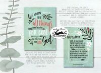 bible christian card PACK OF 10 - pick n mix any design of all my A6 cards kjv