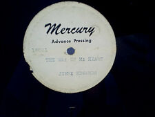 JIMMY EDWARDS MERCURY ADVANCE TEST PRESSING The Way Of My Heart,Wedding Band