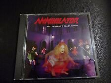 ANNIHILATOR CRITERIA FOR A BLACK WIDOW   CD