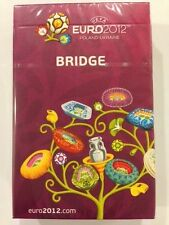 UEFA EURO 2012 SOCCER BRIDGE SET PLAYING CARDS-OFFICIAL LICENSED PRODUCT