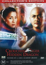 Crouching Tiger Hidden Dragon - Action / Adventure / Martial Arts - NEW DVD