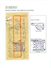 Taiwan Return To Sender Cover Miaoli, 1972 On Page 00-727